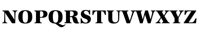URW Antiqua Wide Bold Font UPPERCASE