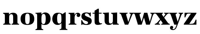 URW Antiqua Wide Bold Font LOWERCASE