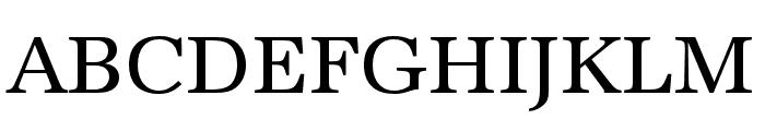 URW Antiqua Wide Regular Font UPPERCASE