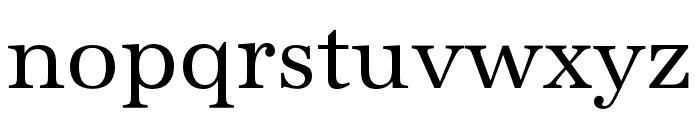 URW Antiqua Wide Regular Font LOWERCASE