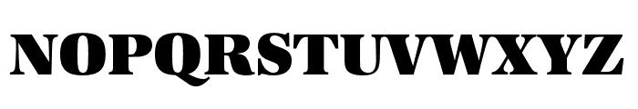 URW Antiqua Wide Ultra Bold Font UPPERCASE