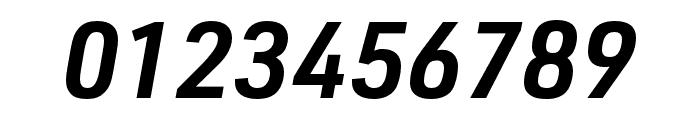 URW DIN SemiCond Demi Italic Font OTHER CHARS