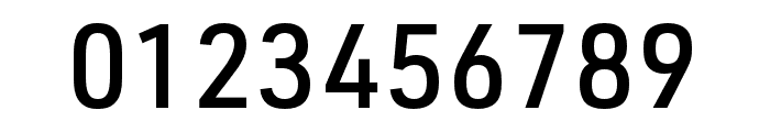 URW DIN SemiCond Medium Font OTHER CHARS
