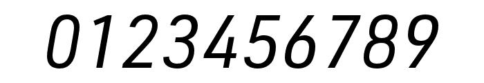 URW DIN SemiCond Regular Italic Font OTHER CHARS