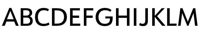 URW Form Cond Medium Font UPPERCASE