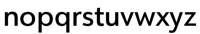 URW Form Cond Medium Font LOWERCASE