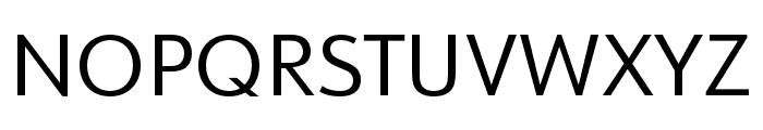 URW Form Expand Regular Font UPPERCASE
