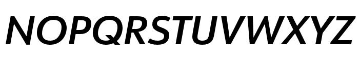 URW Form Extra Bold Italic Font UPPERCASE