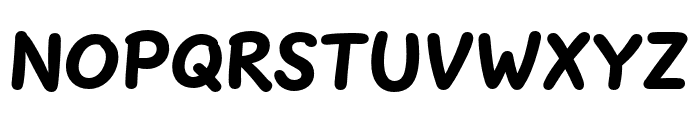 Uberhand Pro Black Font UPPERCASE