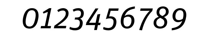 Unit Pro Regular Italic Font OTHER CHARS