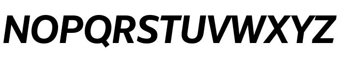 Unitext Bold Italic Font UPPERCASE