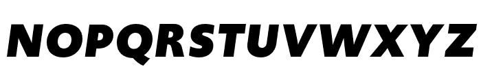 Upgrade Black Italic Font UPPERCASE