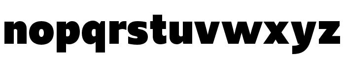 Upgrade Black Font LOWERCASE