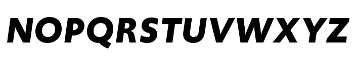 Upgrade Bold Italic Font UPPERCASE