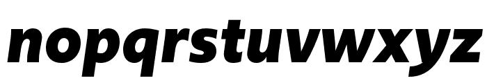 Upgrade Bold Italic Font LOWERCASE