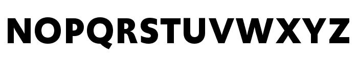 Upgrade Bold Font UPPERCASE