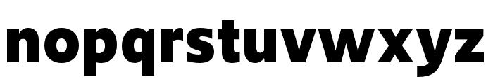 Upgrade Bold Font LOWERCASE