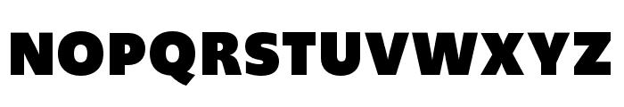 Upgrade Extra Black Font UPPERCASE