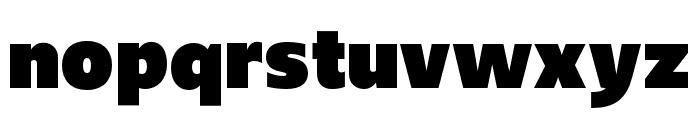 Upgrade Extra Black Font LOWERCASE