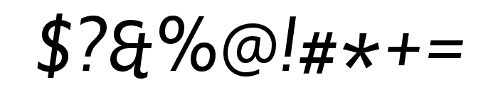 Upgrade Extra Light Italic Font OTHER CHARS