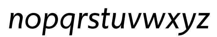 Upgrade Extra Light Italic Font LOWERCASE