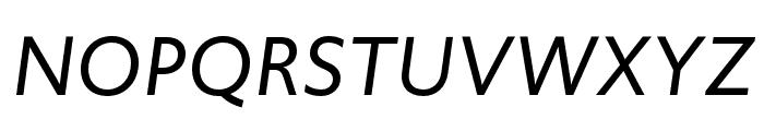Upgrade Italic Font UPPERCASE