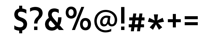 Upgrade Medium Font OTHER CHARS