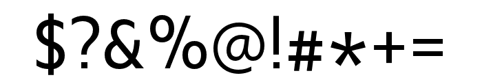 Upgrade Regular Font OTHER CHARS