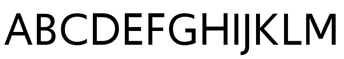 Upgrade Regular Font UPPERCASE