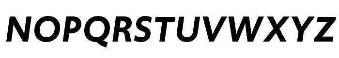 Upgrade Semibold Italic Font UPPERCASE