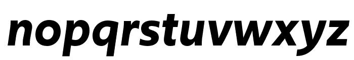 Upgrade Semibold Italic Font LOWERCASE