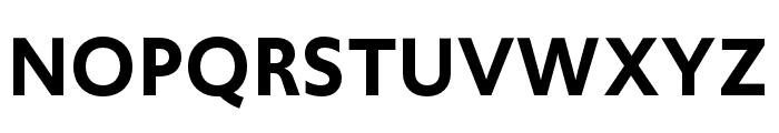 Upgrade Semibold Font UPPERCASE