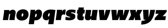 Upgrade Ultra Black Italic Font LOWERCASE