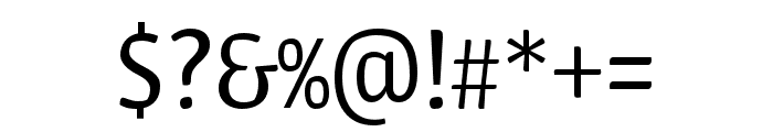 Urbana LightItalic Font OTHER CHARS