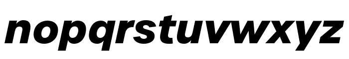 Urbane Bold Italic Font LOWERCASE