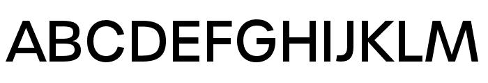 Urbane Medium Font UPPERCASE