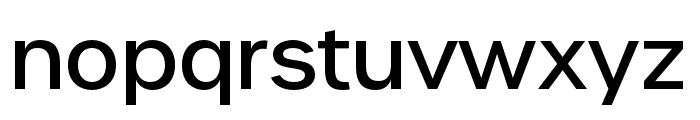 Urbane Medium Font LOWERCASE