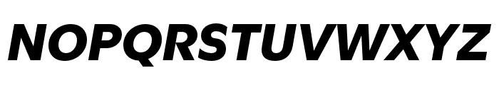 Utile Black Italic Font UPPERCASE