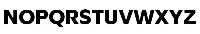Utile Black Font UPPERCASE
