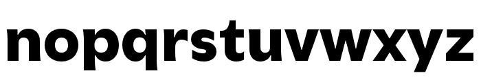 Utile Black Font LOWERCASE