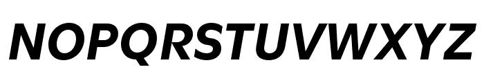 Utile Bold Italic Font UPPERCASE