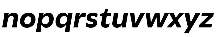 Utile Bold Italic Font LOWERCASE