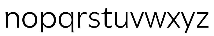 Utile Book Font LOWERCASE