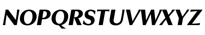 Utile Display Black Italic Font UPPERCASE