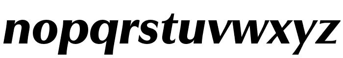 Utile Display Black Italic Font LOWERCASE