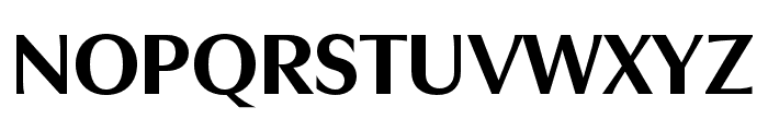 Utile Display Bold Font UPPERCASE