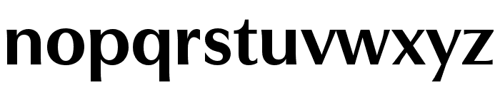 Utile Display Bold Font LOWERCASE