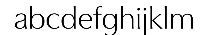 Utile Display Book Font LOWERCASE