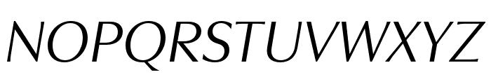 Utile Display Italic Font UPPERCASE