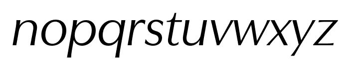 Utile Display Italic Font LOWERCASE